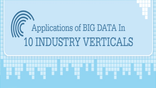 Application of Big Data in 10 Industry verticals